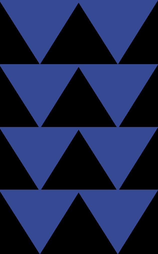 blue-triangle-set